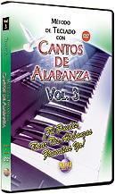 Metodo con Cantos de Alabanza: Teclado Vol. 3