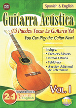2 in 1 Bilingual: Guitarra Acustica Vol. 1