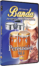 Metodo de Banda: Percusion Vol. 2