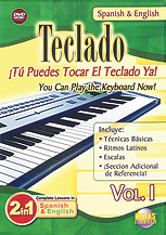 2 in 1 Bilingual: Teclado Vol. 1