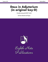 Deus in Adjutorium (in original key of D)