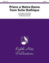 Priere a Notre-Dame (from <i>Suite Gothique</i>)