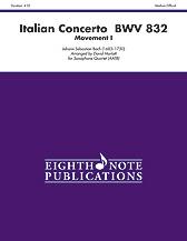 Italian Concerto, BWV 832 (Movement I)