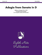 Adagio (from<I> Sonata in D</I>)