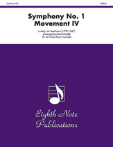 Symphony No. 1 (Movement IV)