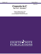Concerto in C Opus 9, No. 9 -- Movement I