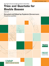 Trios and Quartets for Double Basses, Volume II