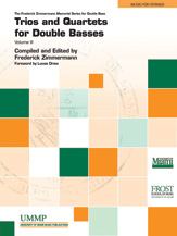 Trios and Quartets for Double Basses, Volume III