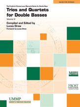 Trios and Quartets for Double Basses, Volume IV