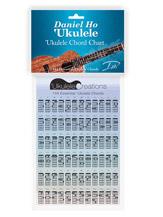 Daniel Ho 'Ukulele: 'Ukulele Chord Chart
