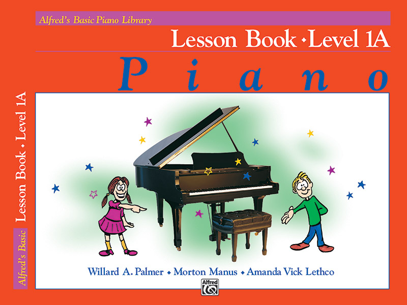 Alfred's Basic Piano Library, Lesson Book 1A