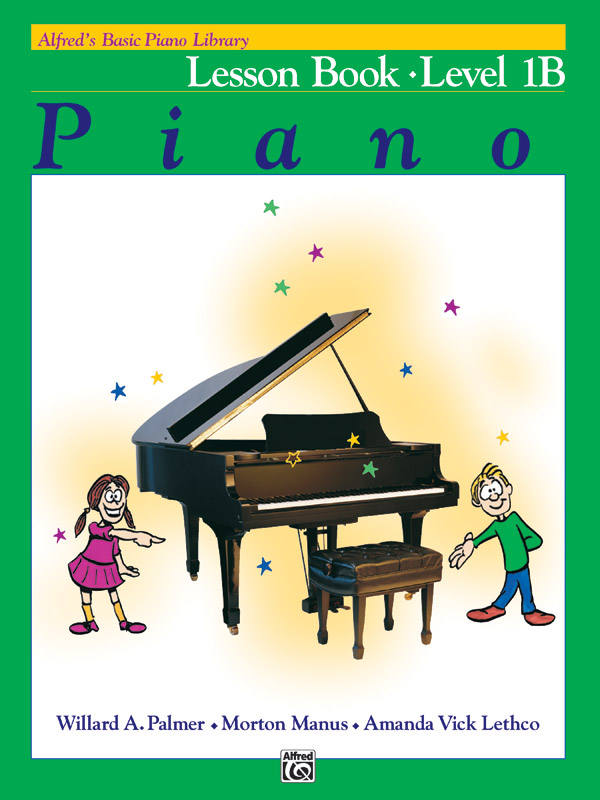 "<h5 style=""text-align: center;"">Alfred's Basic Piano Library, Lesson Book 1B</h5>"