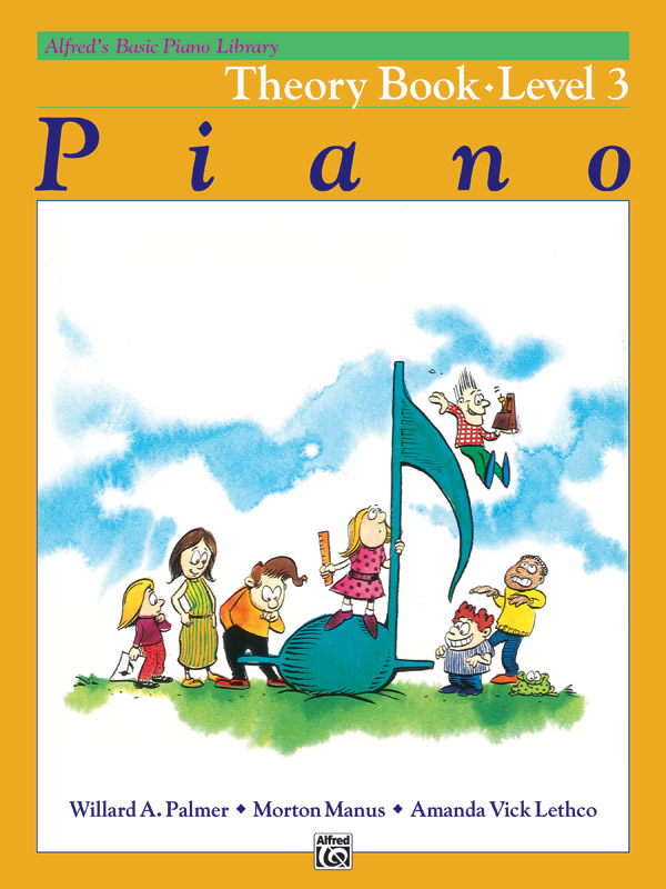 Alfred S Basic Piano Library Theory Book 3 Piano Book