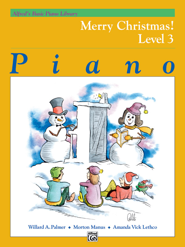 MERRY CHRISTMAS LEVEL 3 Alfreds Basic Piano Library PIANO