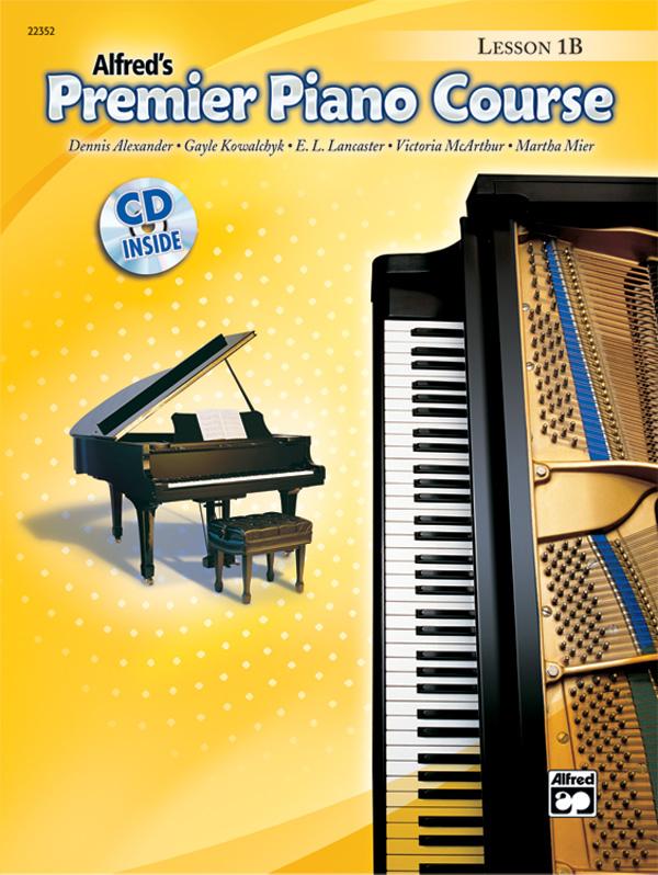 Premier Piano Course Lesson Book 1B