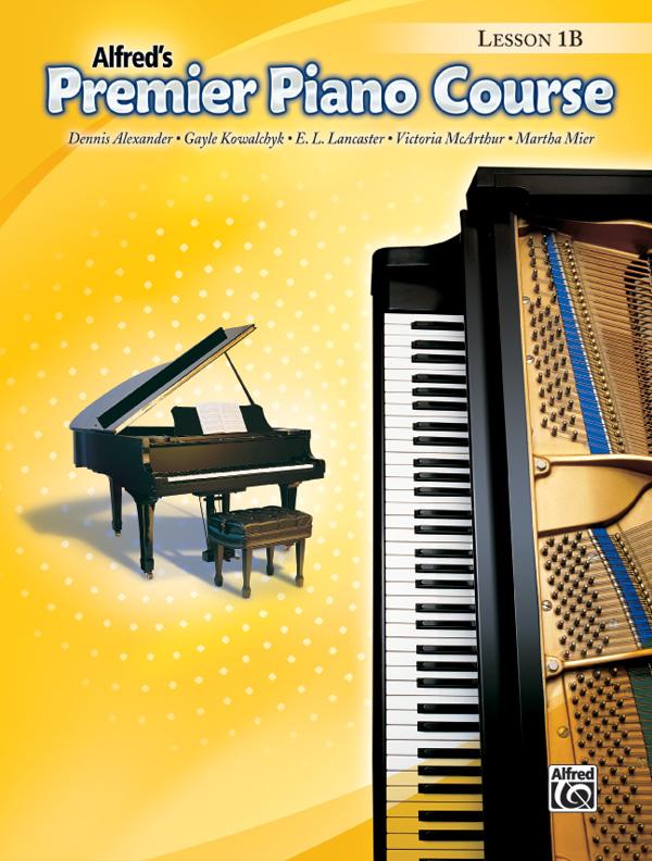 Alfred's Premier Piano Course, Lesson Book 1B