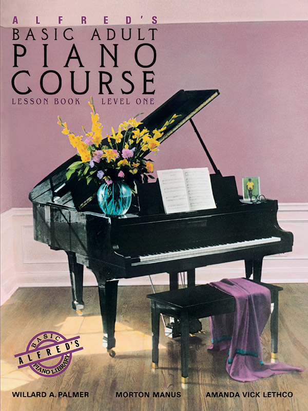 Alfred's Basic Adult Piano Course Book 1