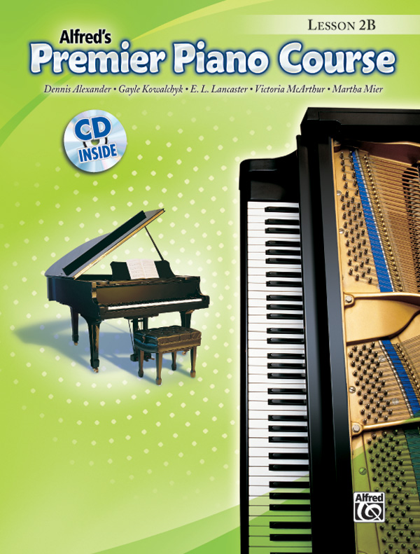 Premier Piano Course Lesson Book 2B