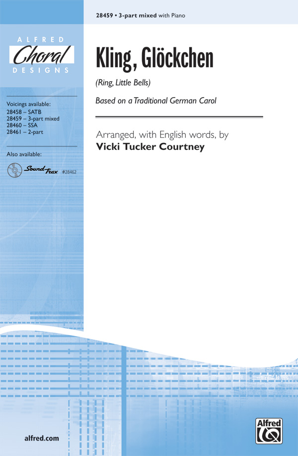 Kling, Glockchen (Ring, Little Bells) : SAB : Vicki Tucker Courtney : Sheet Music : 00-28459 : 038081310039