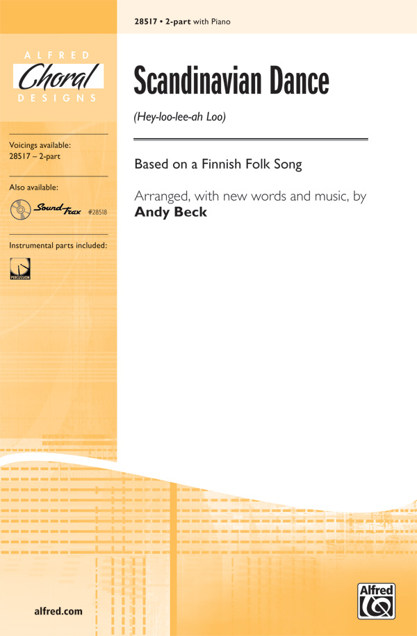 Scandinavian Dance : 2-Part : Andy Beck : Sheet Music : 00-28517 : 038081310619