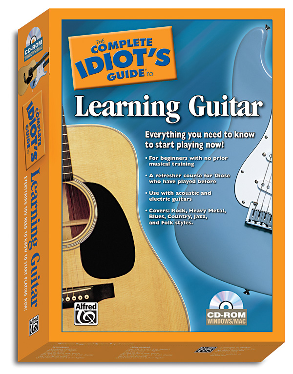 The Complete Idiot S Guide To Learning Guitar Guitar Cd Rom With