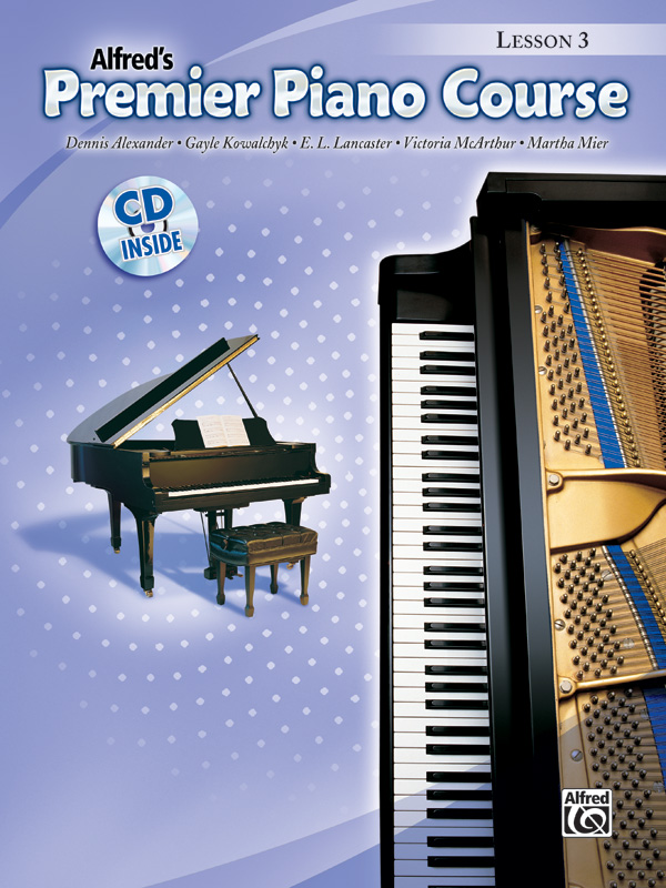 Premier Piano Course Lesson Books 3-6