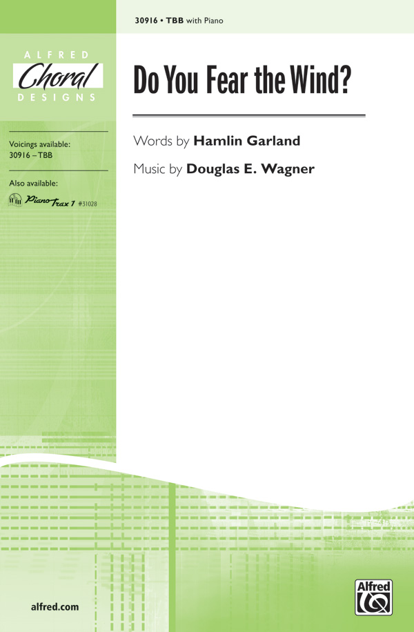 Do You Fear the Wind? : TBB : Douglas E. Wagner : Douglas E. Wagner : Sheet Music : 00-30916 : 038081336886