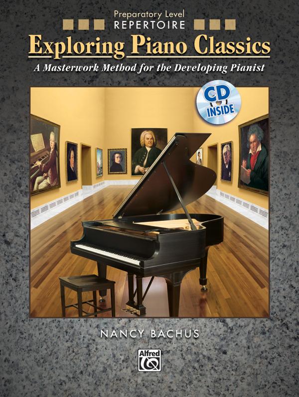 Exploring Piano Classics Prep Level cover