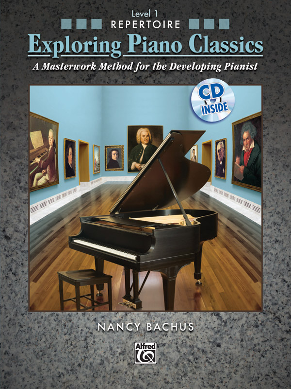 Exploring Piano Classics Level 1 cover