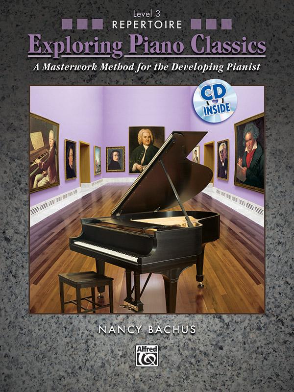 Exploring Piano Classics Level 3 cover