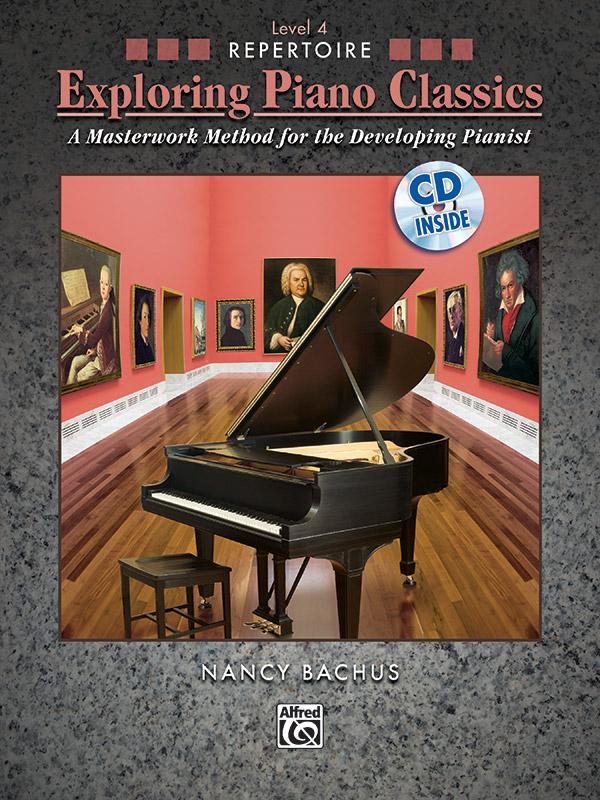 Exploring Piano Classics Level 4 cover