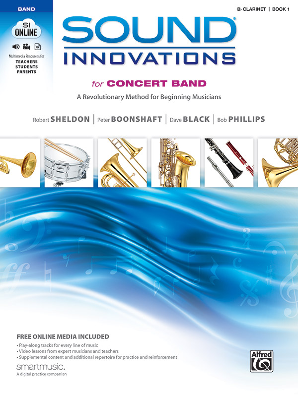 SOUND INNOVATIONS CLARINET BOOK 1 CD INCLUDED  **BRAND NEW**