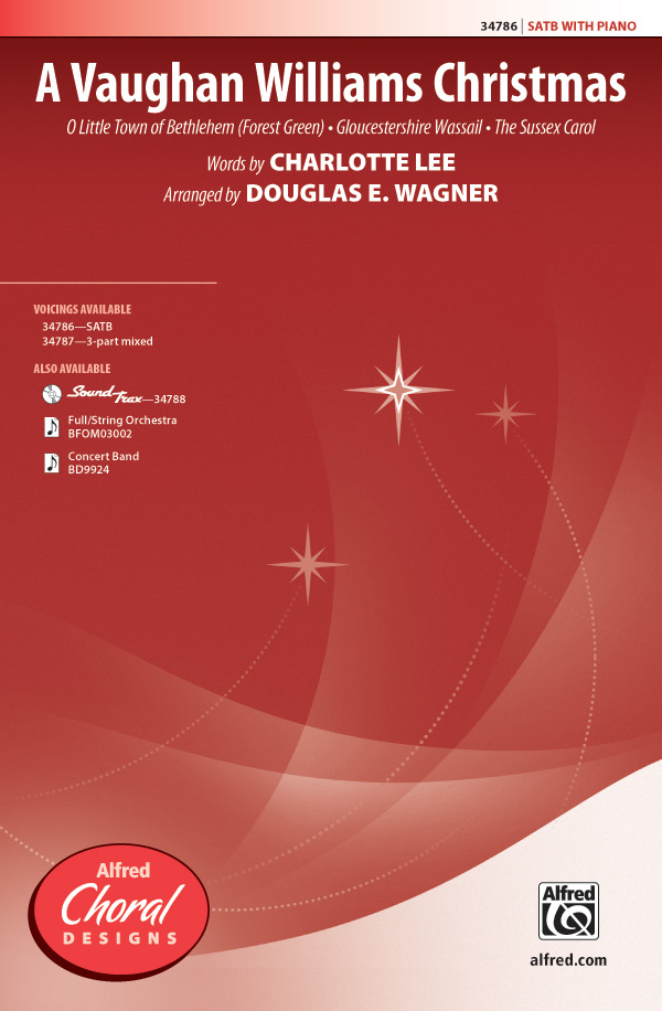 A Vaughan Williams Christmas : SATB : Douglas E. Wagner : Vaughan Williams : Sheet Music : 00-34786 : 038081385129