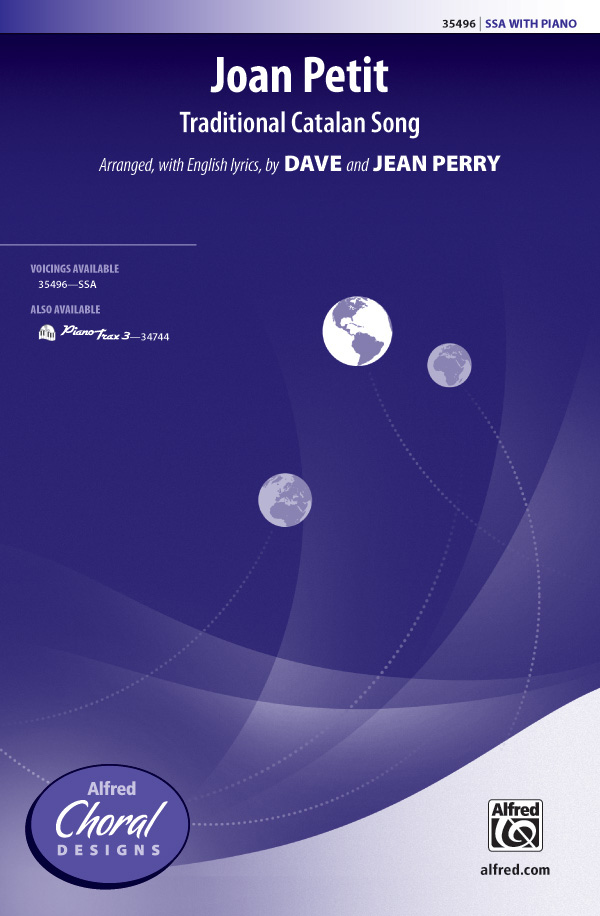 Joan Petit : SSA : Dave Perry : Sheet Music : 00-35496 : 038081396927