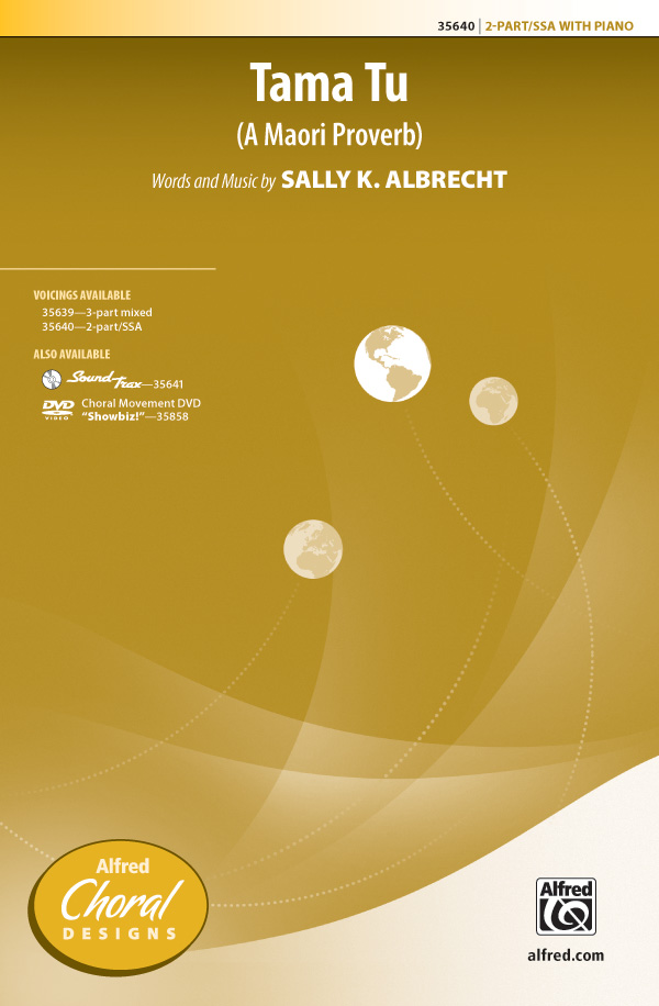 Tama Tu : SSA : Sally K. Albrecht : Sally K. Albrecht : Sheet Music : 00-35640 : 038081398365