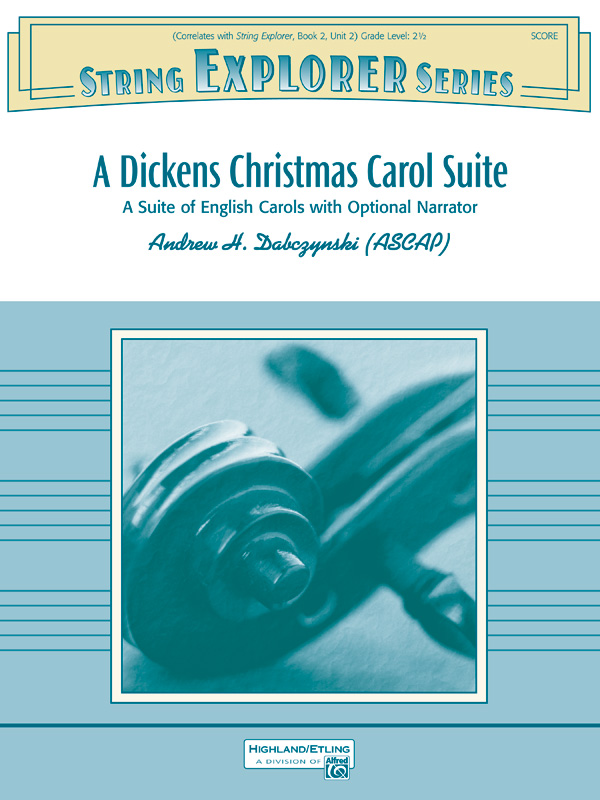 A Dickens Christmas Carol Suite String Orchestra Conductor Score Parts Andrew H Dabczynski