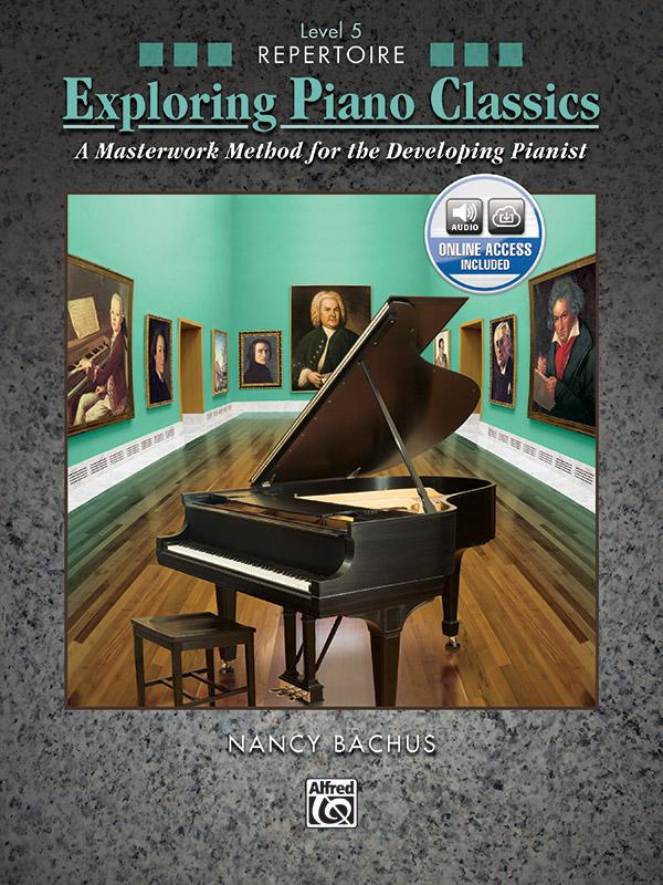 Exploring Piano Classics Level 5 cover