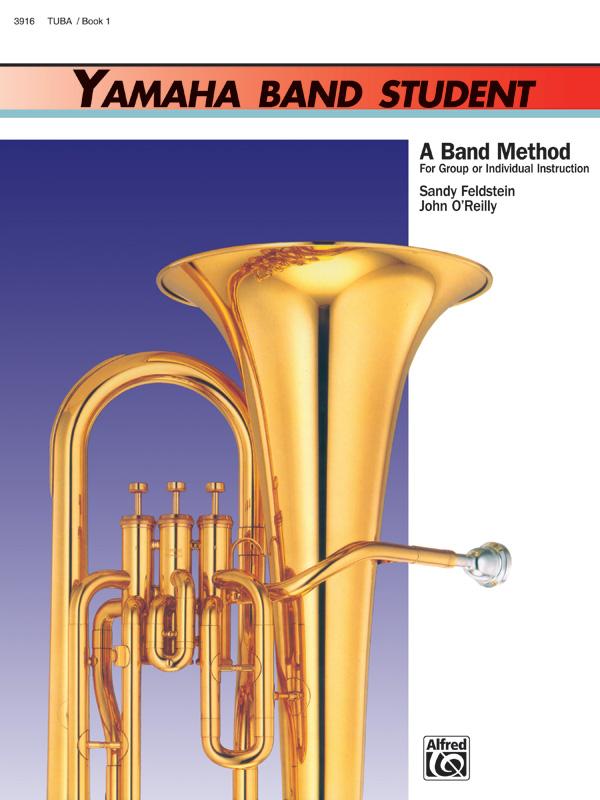3916 Yamaha Band Student Tuba Book 1
