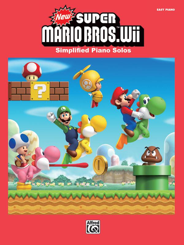 New Super Mario Bros Wii Piano Book Koji Kondo