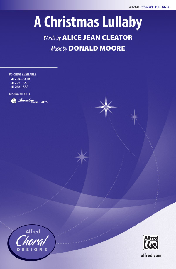 A Christmas Lullaby : SSA : Donald Moore : Donald Moore : Sheet Music : 00-41760 : 038081468402