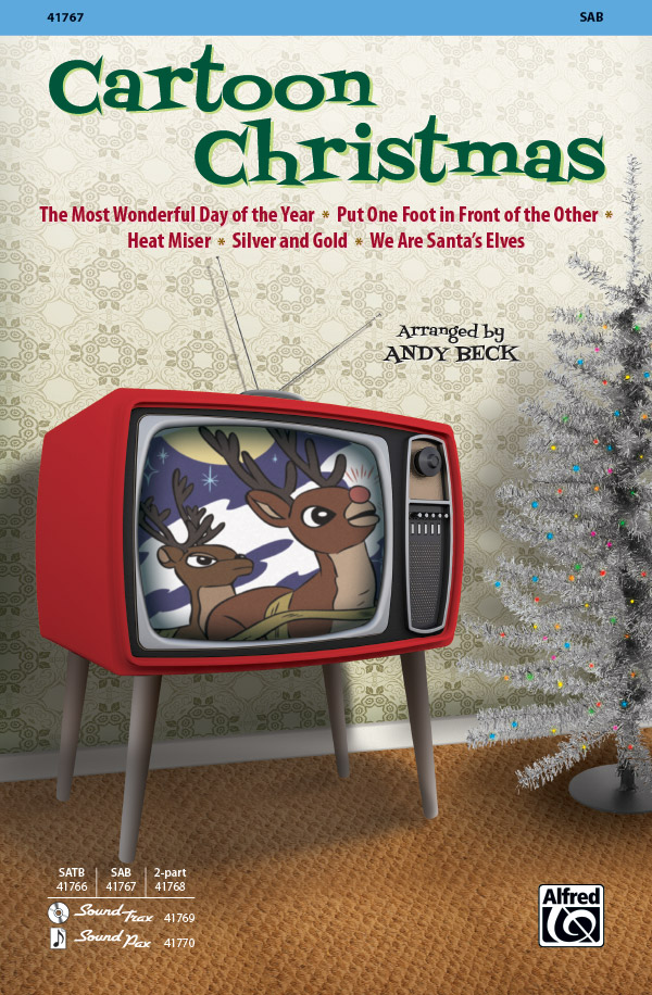 Cartoon Christmas : SAB : Andy Beck : Cartoon Christmas : Sheet Music : 00-41767 : 038081468471