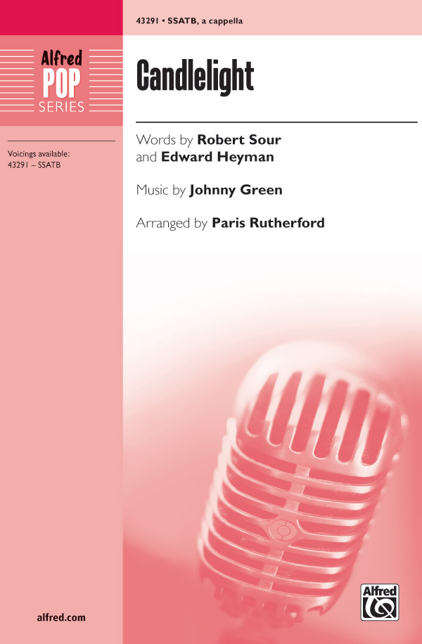 Candlelight : SSATB : Paris Rutherford : Johnny Green : Sheet Music : 00-43291 : 038081488332