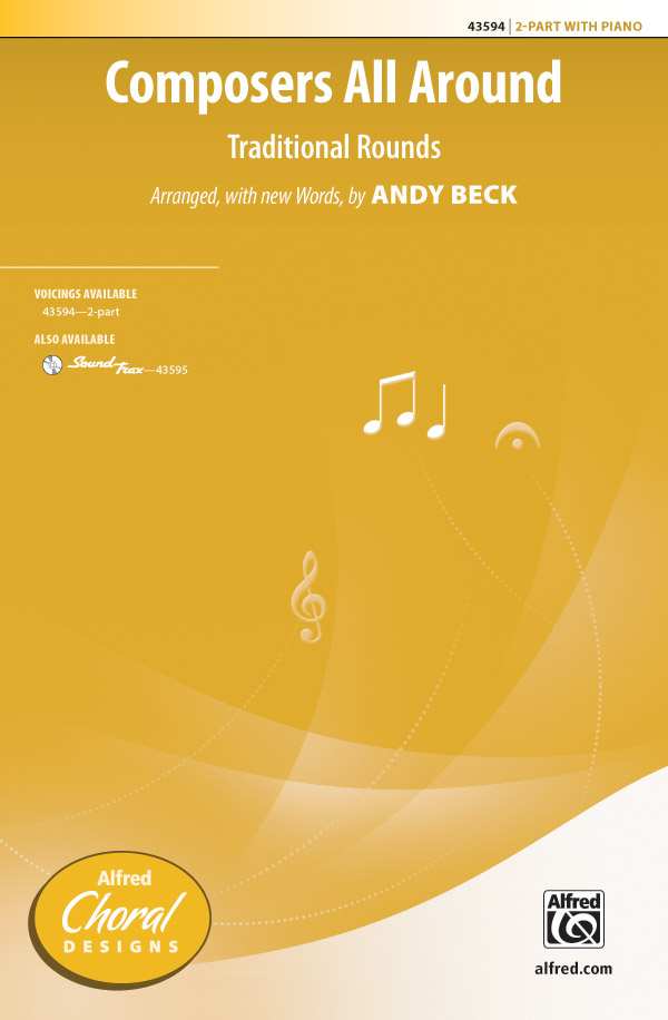 Composers All Around : 2-Part : Andy Beck : Sheet Music : 00-43594 : 038081491349