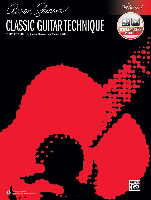 Classic Guitar Technique Volume 1 Third Edition Guitar Book Online Audio