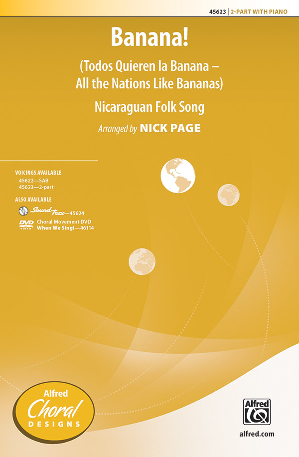 Banana! : 2-Part : Nick Page : Sheet Music : 00-45623 : 038081513621