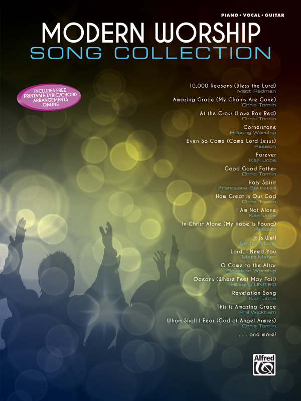 Modern Worship Song Collection cover