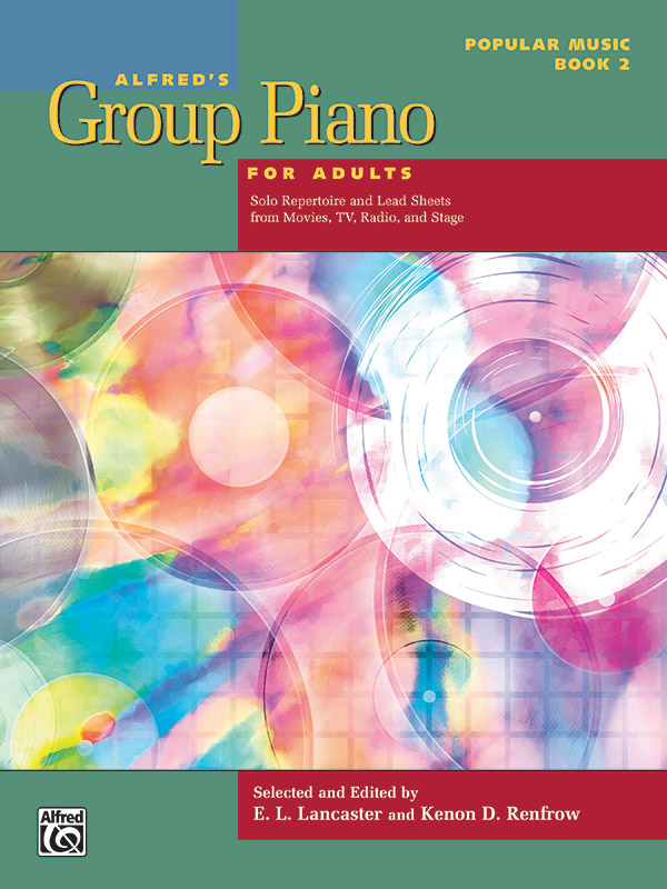 Alfred's Group Piano for Adults Popular Music, Book 2