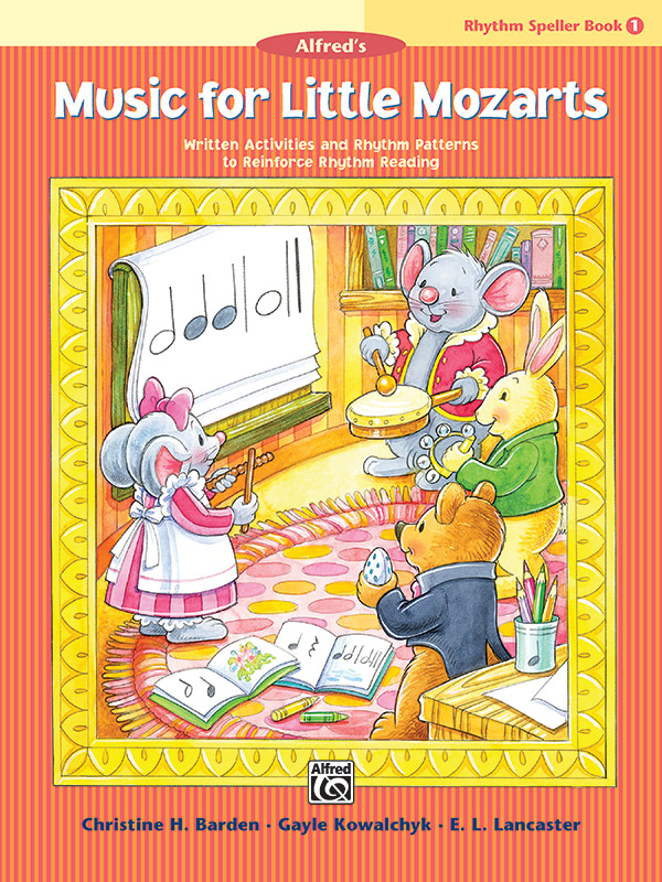 Music for Little Mozarts: Rhythm Spellers