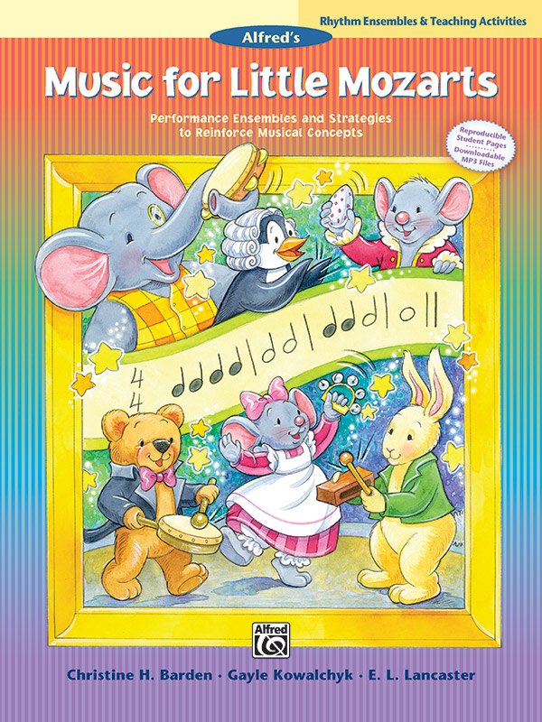 Music for Little Mozarts Rhythm Ensembles