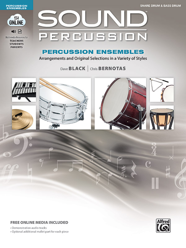 Sound Percussion Ensembles Book Cover